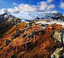 Blencathra from Scales Fell by Chris McIlreavy