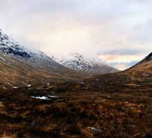 Glen Coe Panorama by Chris McIlreavy