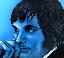 George Best celebrity portrait by Margaret Sanderson