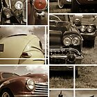 Classic car collage by snehit