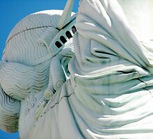 Statue of Liberty from a different angle by Sue Leonard