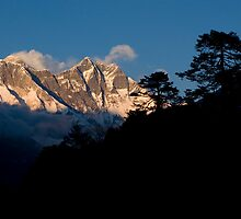 Himalayan Morning by Mark Poulton