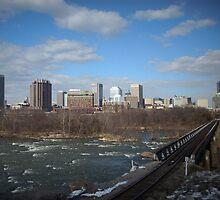 Skyline Richmond, Virginia by AJ Belongia