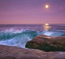 Full Moon Setting by Robert Whiteman