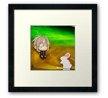 Mr. Rabbit?? Framed Print