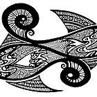 Black and White Fish by MelDavies