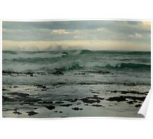 Wispy Surf, Great Ocean Road Poster