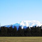 Snow Capped Mountains by NinaJoan