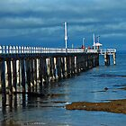 Point Lonsdale Pier, Victoria, Australia by Sharon McDowall