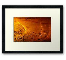 Solar Pond Framed Print