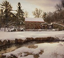 The Old Grist Mill by bettywiley