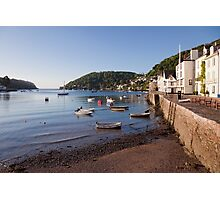 Bayard's Cove and the River Dart Photographic Print