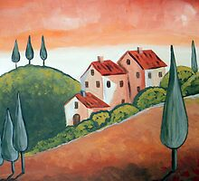 One day in Tuscany by nelinda