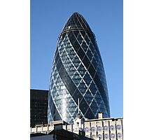 The famous Gherkin in London Photographic Print
