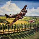 59 Sqdn Blenheim France 1939 by Woodie