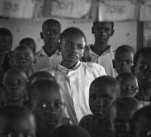 Kampala Schoolroom 1 by Peter Maeck
