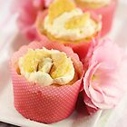 Butterfly Cream Cakes by Barb Leopold