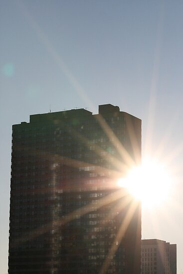 Peaking Sun by D.M. Mucha