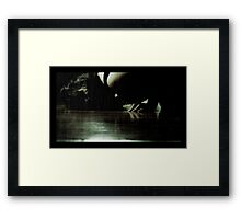 The ciccadas are singing under the floorboards Framed Print
