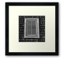 Attic grunge, Swedish cottage. Framed Print