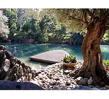 Beautiful River Jordan Photographic Print