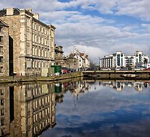Reflective Water by Lynne Morris