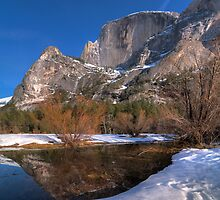 Half Dome Reflections by MattGranz