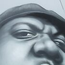 Photo of OWEN'S Biggie painting by Rangi Matthews