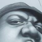 Photo of OWEN'S Biggie painting by Rangi Matthews