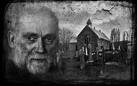 The Priest & The Kirkyard by smylie