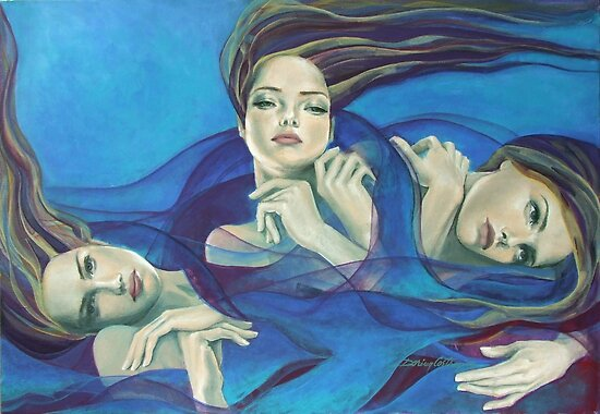 "Fragments of longing - from ""Whispers"" series by dorina costras"