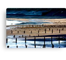 The Shore at Sandsend Canvas Print