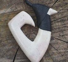 MAORI FISH HOOK by RED-RABBIT