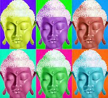 Buddha Pop Art. by FDunn