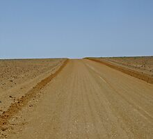 Long and lonely road - The Outback by Fineli
