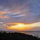 Cloudshow #11 - Sunset from La Olivier by Susana Weber