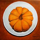 Pumpkin On A Plate by max1cate