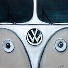 Ultra-Close-Up Kombi -2010 by ChristineBetts