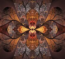 Autumn Stained Glass by Scott Ferman
