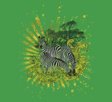 ZEBRA SAFARI T-Shirt