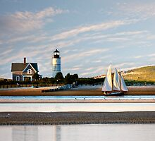 Schooner at Sandy Neck by bettywiley
