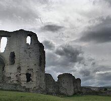 Castle Caereinion, Llanfair, Powys, Wales by Allen Lucas