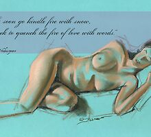 Reclining Nude by House