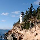 Bass Harbor Lighthouse by Dan Hatch