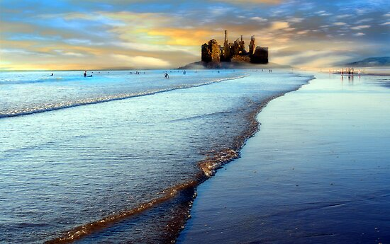 Sand Castle by Cat Perkinton