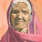 Indian grandmother by ian osborne