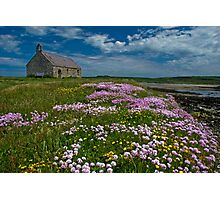 St.Cwyfan's Church-in-the-Sea, Isle of Anglesey Photographic Print