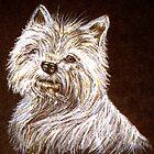 Scottie Dog Print by sharpie