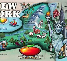New York CARD by Kevin Middleton