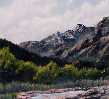 Colorado Rockies by Gordon Pegler